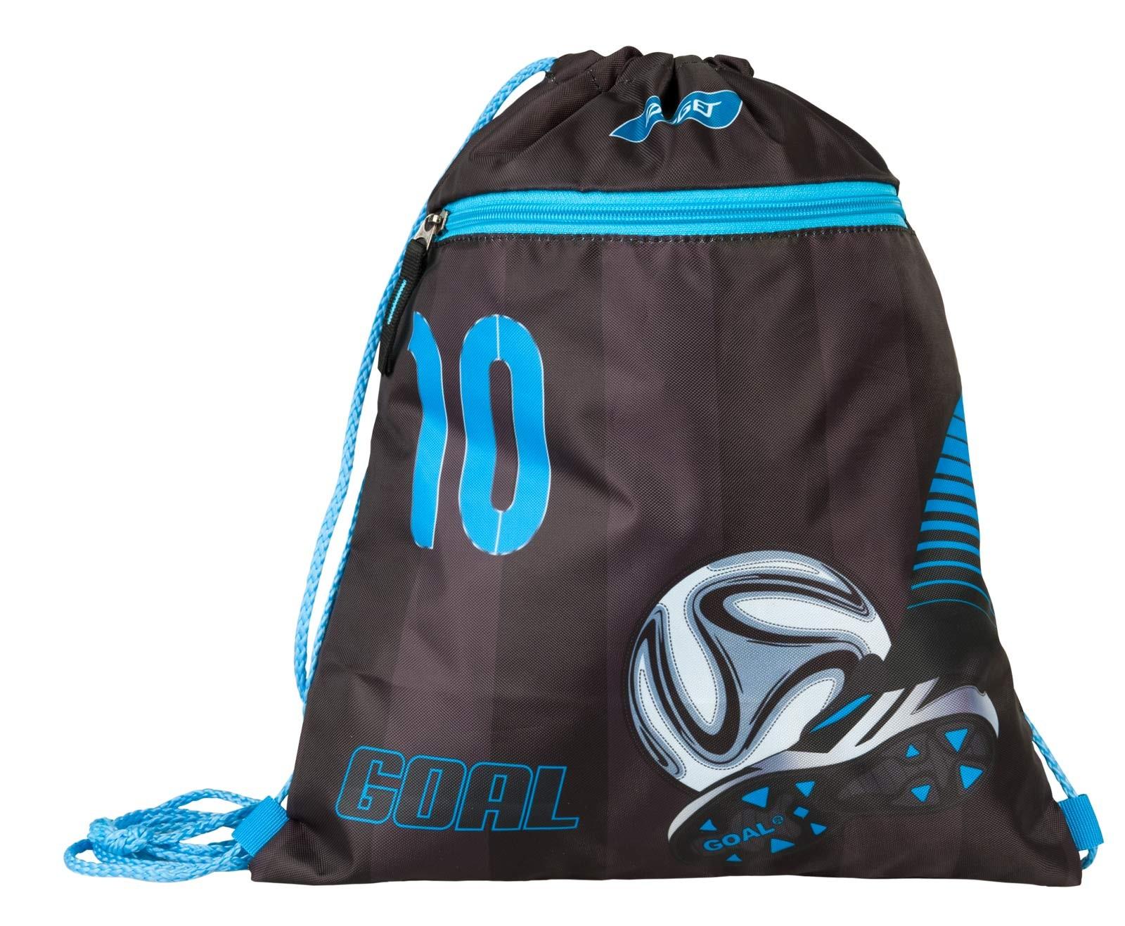 GYM BAG FOOTBALL BLUE 21825  2a8f4d3ce7902